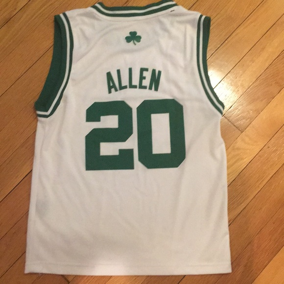 90dac656 adidas Shirts & Tops   Boston Celtics Ray Allen Jersey   Poshmark